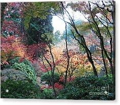 Autumn Portland  Acrylic Print by Marlene Rose Besso