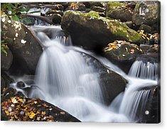 Autumn Rapids Acrylic Print by Andrew Soundarajan