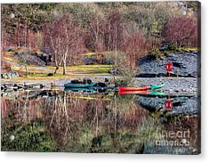 Autumn Reflections Acrylic Print by Adrian Evans