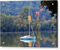 Autumn Sails Acrylic Print