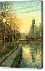 Autumn Serenity II Acrylic Print by Doug Kreuger