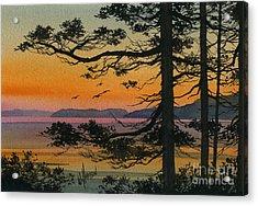 Autumn Shore Acrylic Print by James Williamson