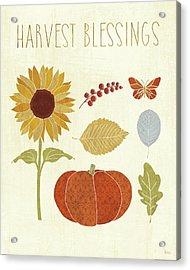 Autumn Song Vi Acrylic Print by Veronique Charron