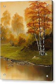 Autumn Splendor Acrylic Print by C Steele