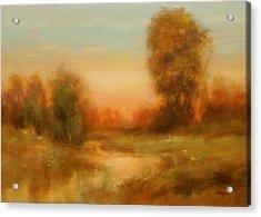 Autumn Splendor Acrylic Print by Richard Hinger