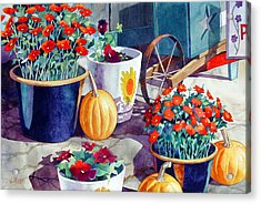 Autumn Still Life Acrylic Print by Mick Williams
