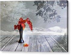 Autumn Still Life Acrylic Print by Veikko Suikkanen