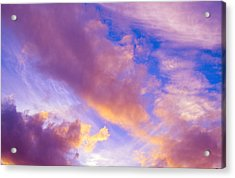 Acrylic Print featuring the photograph Autumn Sunset by Naomi Burgess
