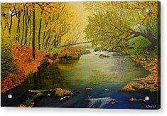 Autumn Acrylic Print by Svetla Dimitrova