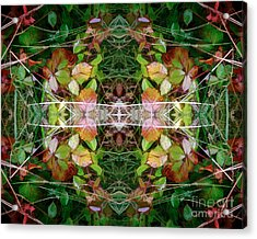 Autumn Symmetry Acrylic Print