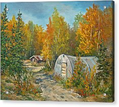 Autumn Tapestry  Acrylic Print by Gracia  Molloy