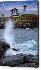 Autumn Tide Acrylic Print by Rick Berk