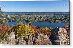 Autumn View From Garvin Heights Acrylic Print