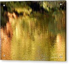Acrylic Print featuring the photograph Autumn Water by Lee Craig