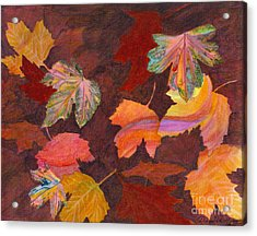 Autumn Wonder Acrylic Print by Denise Hoag