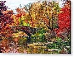 Autumn Wonderland Acrylic Print by Nishanth Gopinathan