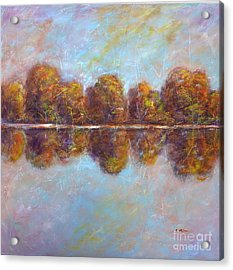 Autumnal Atmosphere Acrylic Print