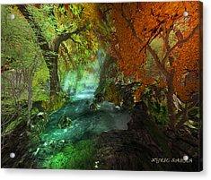 Autumnal Solitude  Acrylic Print