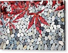 Autumnal Zen Acrylic Print