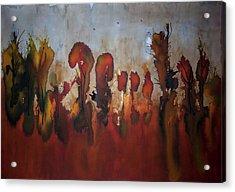 Autumno V Acrylic Print by Laura Benavides Lara
