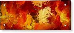 Autumn's Abstract Beauty Acrylic Print by Lourry Legarde
