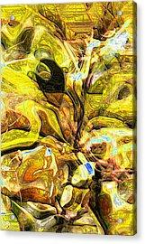 Autumn's Bones Acrylic Print by Richard Thomas