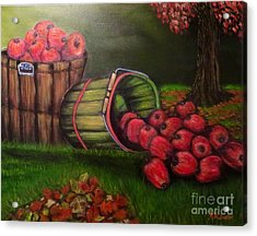 Autumn's Bounty In The Volunteer State Acrylic Print by Kimberlee Baxter