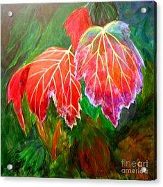 Autumn's Dance Acrylic Print