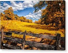 Autumns Pasture Acrylic Print