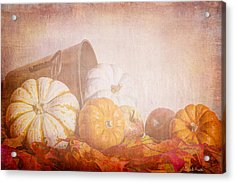 Autumn's Pick Acrylic Print