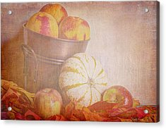 Autumn's Treats Acrylic Print