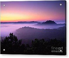 Auxier Ridge Dawn - Fm000023 Acrylic Print by Daniel Dempster