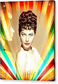 Ava Gardner In One Touch Of Venus Acrylic Print by Art Cinema Gallery