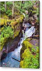 Avalanche Gorge 3 Of 4 Acrylic Print