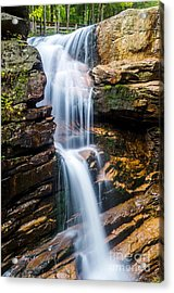 Acrylic Print featuring the photograph Avalanche Falls2 by Mike Ste Marie