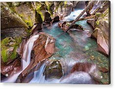 Avalanche Gorge 4 Of 4 Acrylic Print