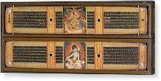 Avalokitesvara And Maitreya Acrylic Print by British Library