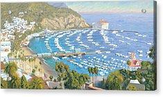 Avalon Panorama Acrylic Print by Steve Simon