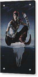 Avast Ye Pirate Acrylic Print