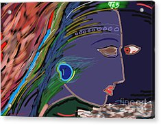 Avatar Acrylic Print by Vilas Malankar