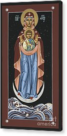 Ave Maris Stella  Hail Star Of The Sea 044 Acrylic Print