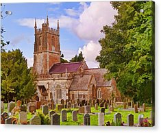 Avebury Church -1 Acrylic Print