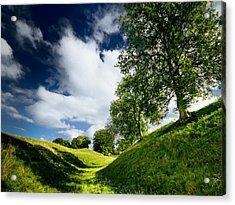Avebury Hillside Acrylic Print