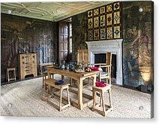 Avebury Manor Acrylic Print by Svetlana Sewell