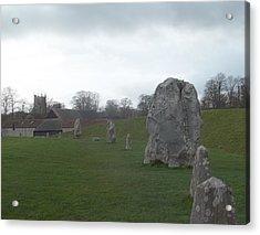 Avebury Stone Henge Acrylic Print