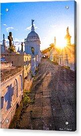 Avenue Of Tombs - Granada Acrylic Print