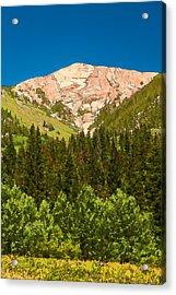 Avery Peak Acrylic Print