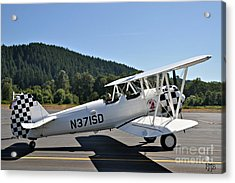 Acrylic Print featuring the photograph Aviation Dreams by Mindy Jo Bench