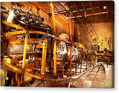 Aviation - Early Days Of Aviation Acrylic Print by Mike Savad