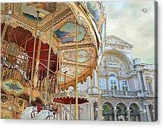 Avignon Carousel Acrylic Print